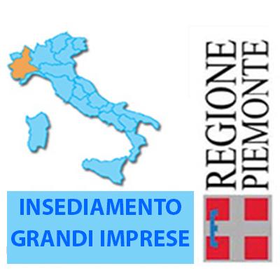 PIEMONTE: agevolazioni agli insediamenti delle grandi imprese in Piemonte. Contributi fino al 60% per le grandi imprese che intendono investire in Piemonte generando una significativa ricaduta occupazionale. Scadenza 31 dicembre 2021.