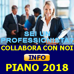 COLLABORA CON NOI PIANO 2018