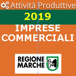 marche imprese commerciali 2019